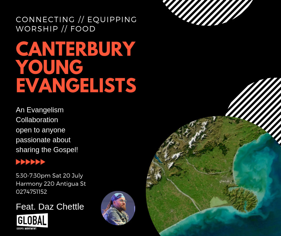 Canterbury Youth Evangelists 20 7 19