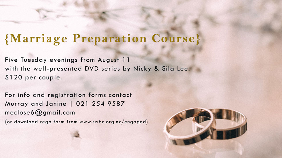 Marriage Preperation aug20